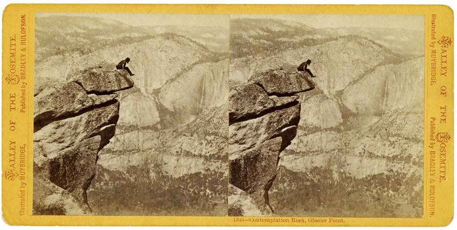 Glacier Point, Yosemite, 1872